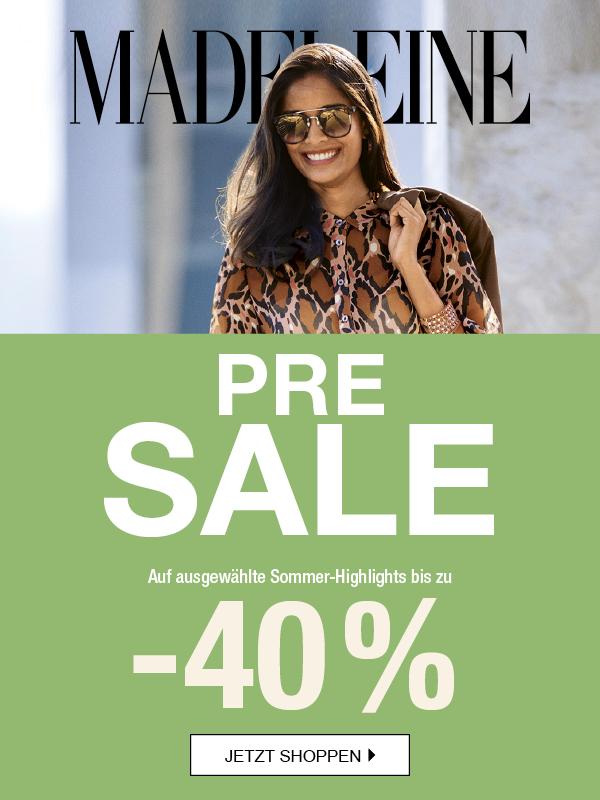 MADELEINE: Pre Sale bis -40%