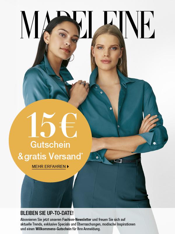 MADELEINE: 15 € Gutschein & gratis Versand!