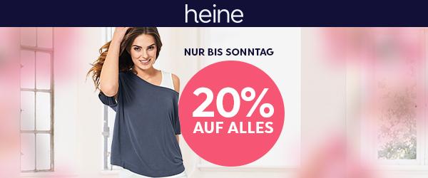 HEINE: -20% auf ALLES