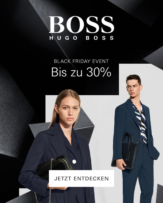 HUGO BOSS: Bis -30% zum Black Friday Event