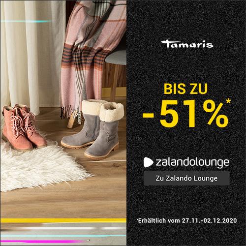 TAMARIS bis -51% bei ZALANDO Lounge