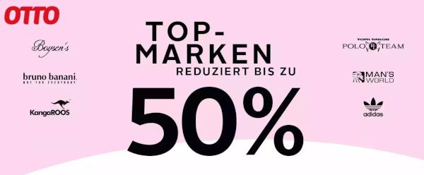 OTTO: Top-Marken reduziert bis -50%