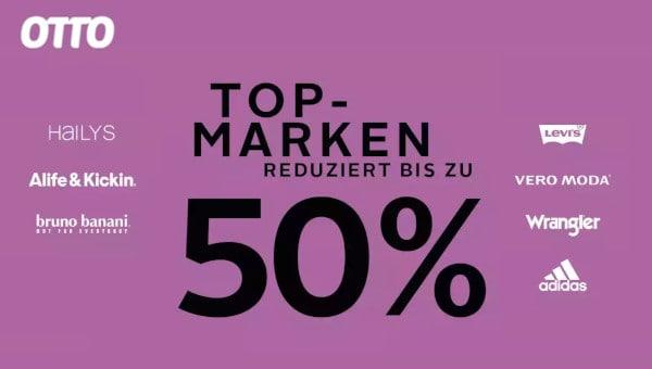 Top Marken bis -50% bei OTTO