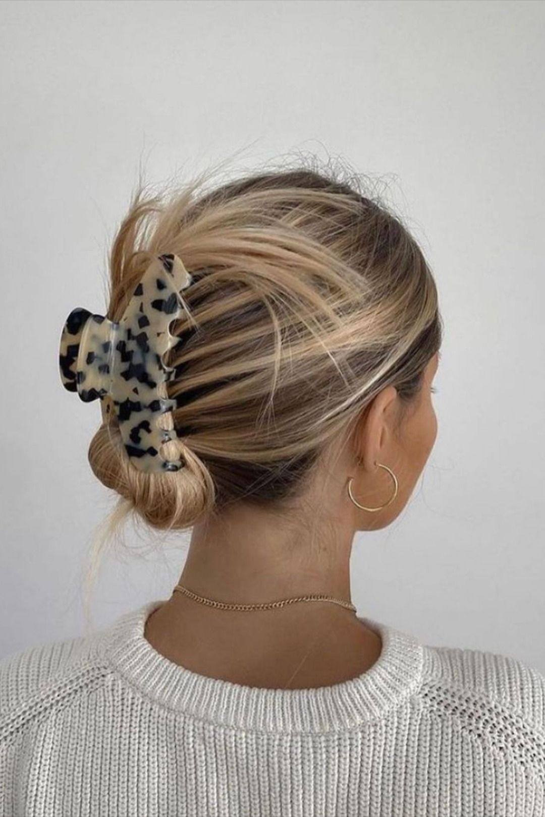Specail grey hair style for woman