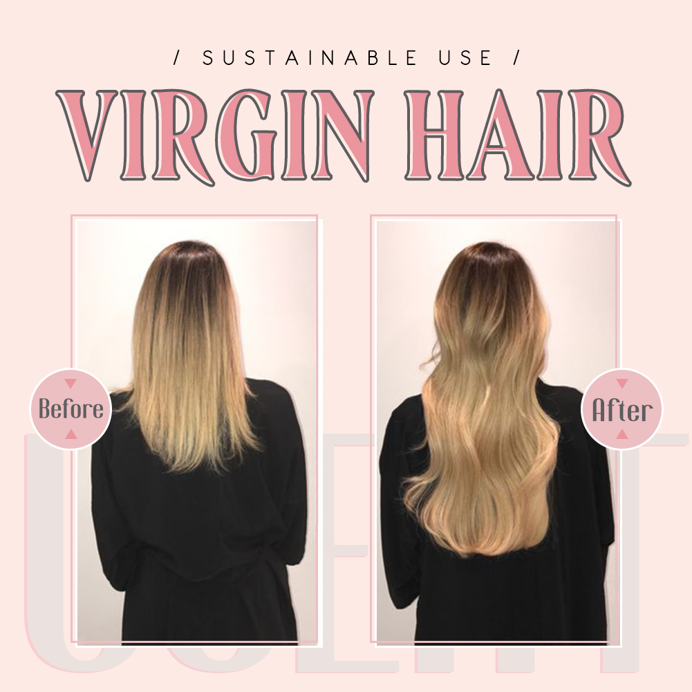 Ugeat hair before and after