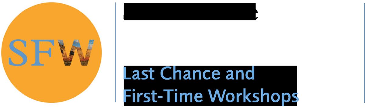 Santa Fe Workshops Online - Last Chance and First-Time Workshops