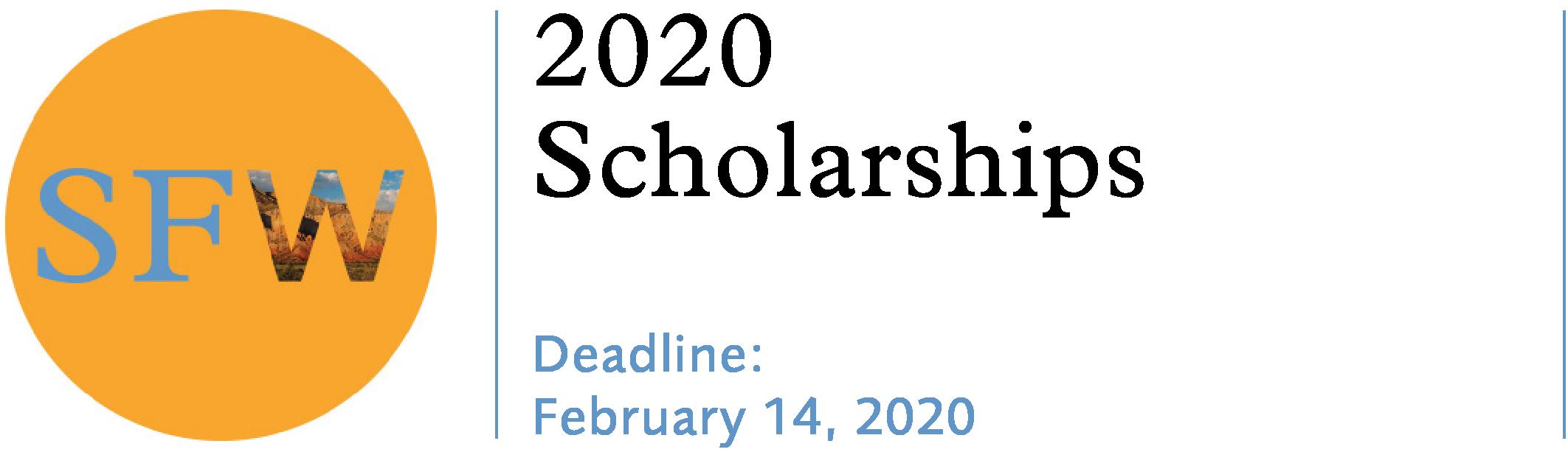 Santa Fe Workshops 2020 Scholarships