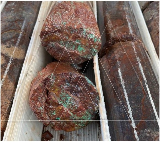 Canuc Resources San Javier drill core