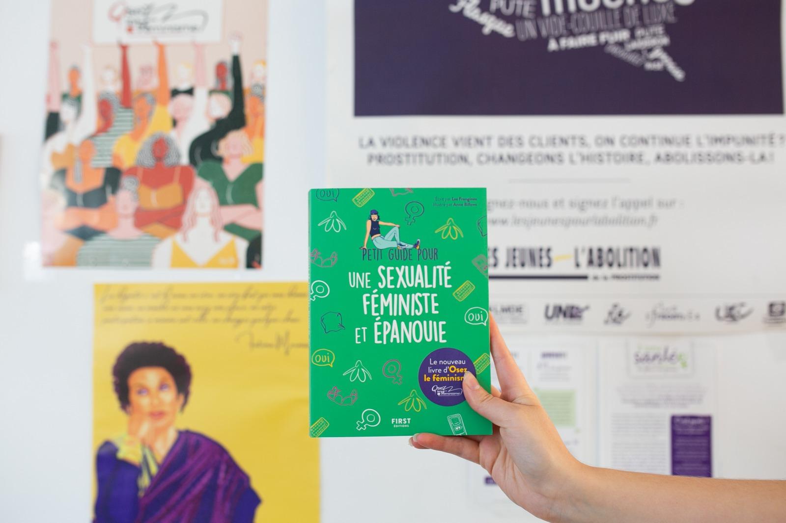 Soirée de lancement du livre d'OLF petit guide pour une sexualité féministe et épanouie mardi 14 septembre 2021 au Hasard Ludique