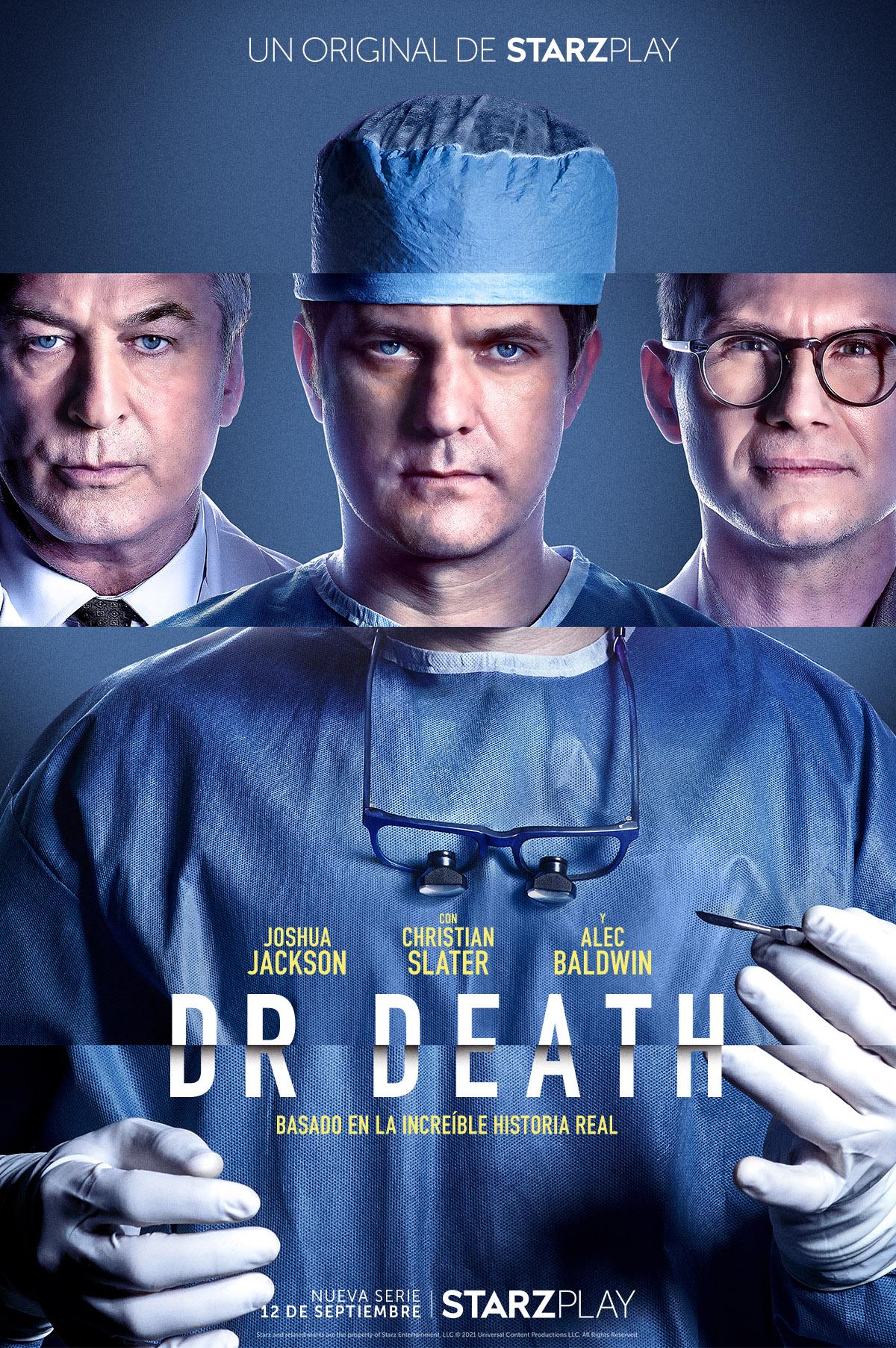 STARZPLAY presenta el nuevo trailer de Dr. Death, serie que se estrenará el próximo 12 de septiembre en determinados territorios de Europa y América Latina