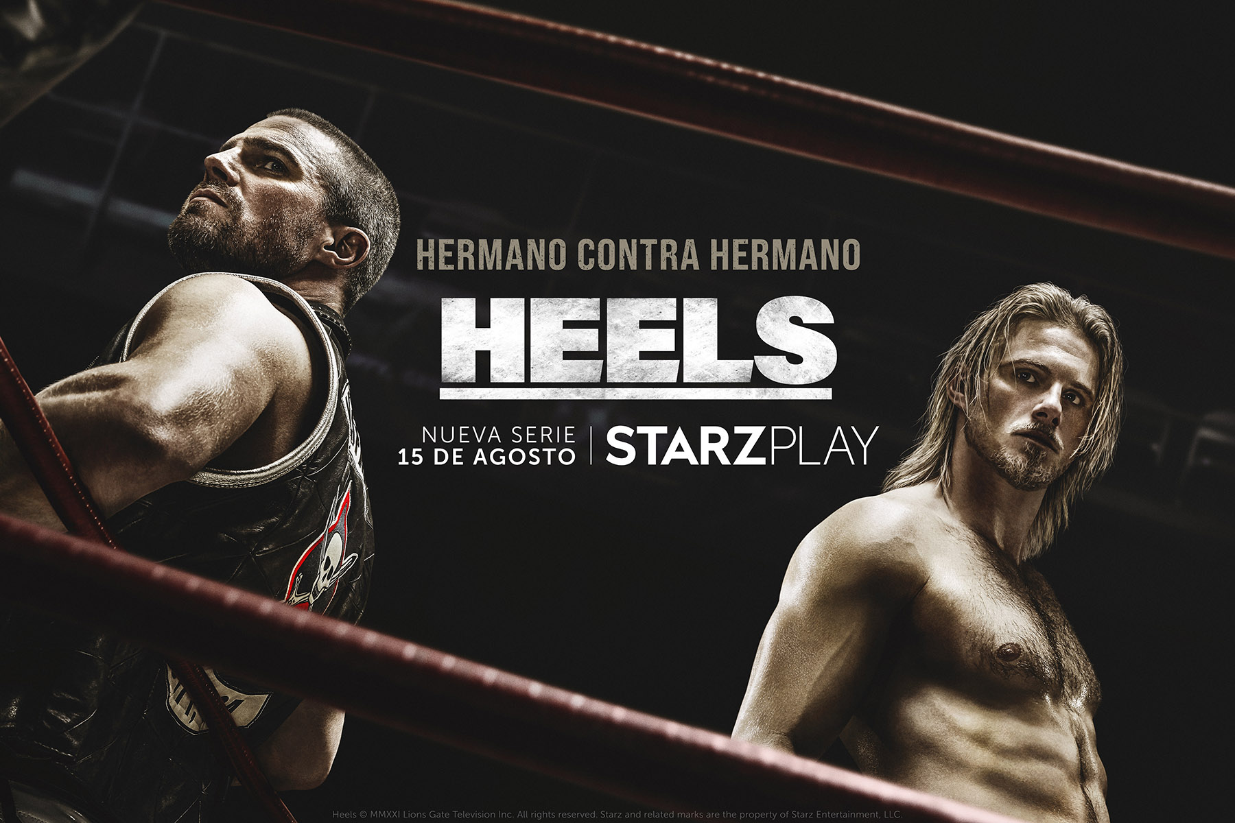 Starzplay lanza el trailer y poster de la serie Heels, un drama de lucha libre que se estrenará este 15 de agosto