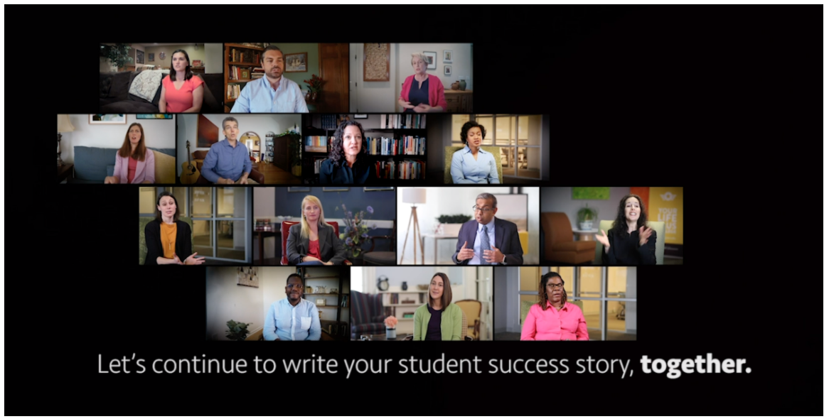 Let's continue to write your student success story, together.