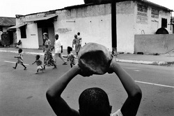 rehabilitated child soldier football
