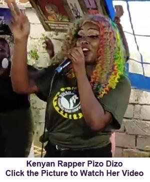Kenyan Rapper Pizo Dizo
