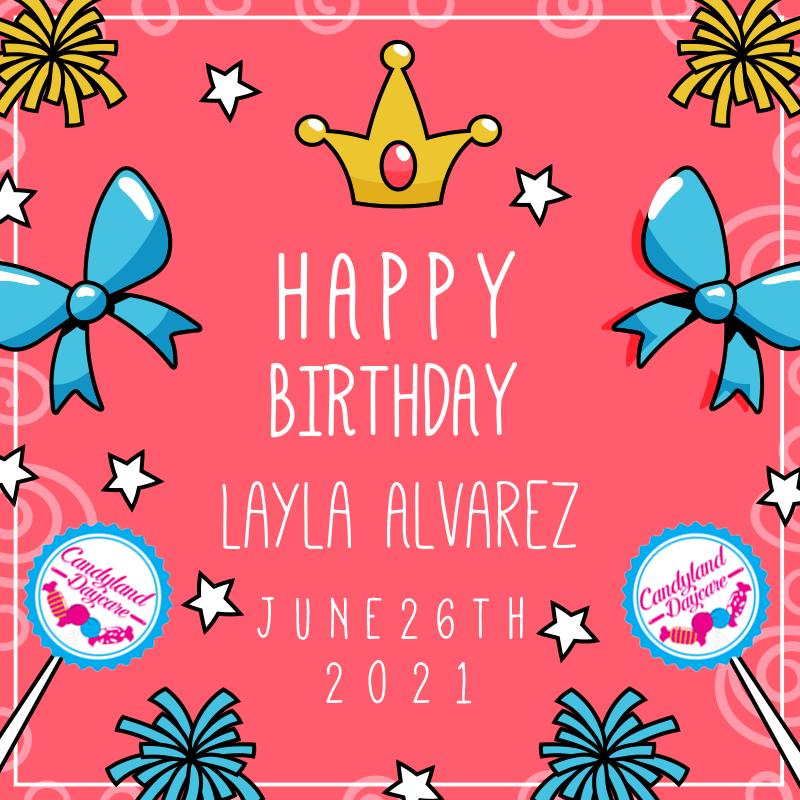 Happy birthday - June - Candyland Aldine
