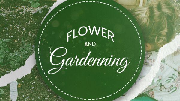 Flower & Gardening - Candyland Aldine March 2021 Curriculum