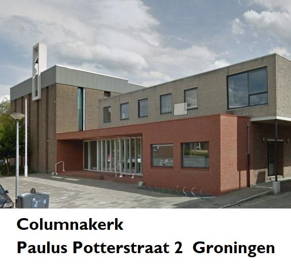 Columnakerk Paulus Potterstraat 2 Groningen