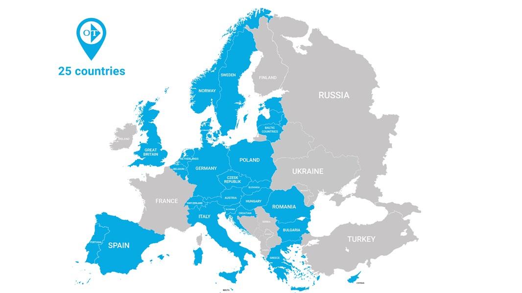 """Η Ευρώπη στα """"μπλε"""" της OMONIA TRANS!"""