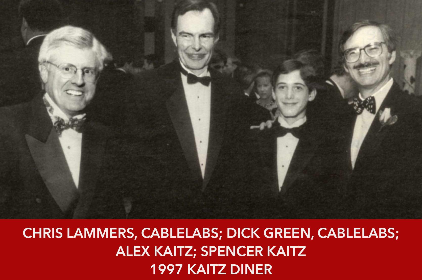 1997 Kaitz Dinner