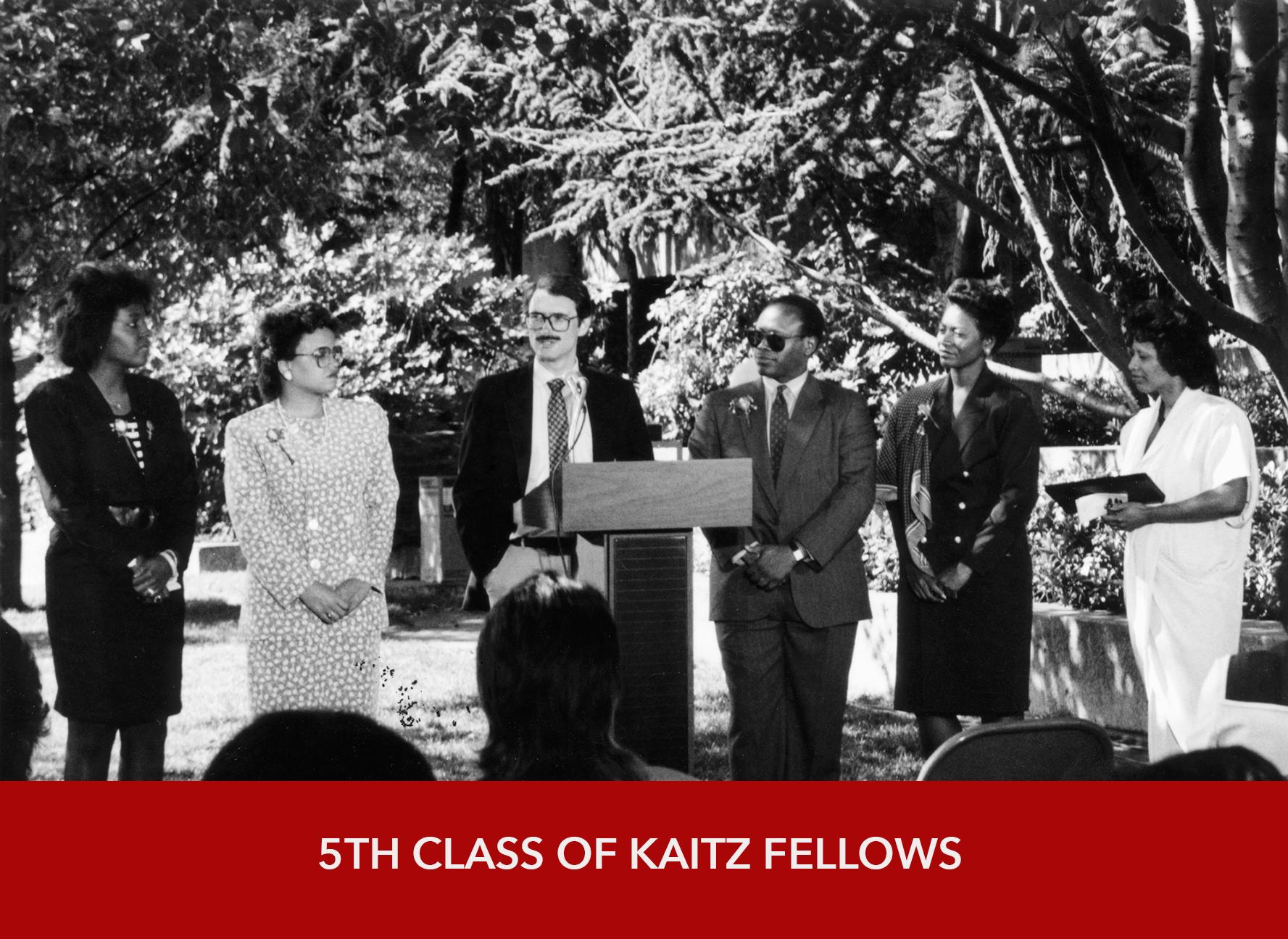 5th Class of Kaitz Fellows