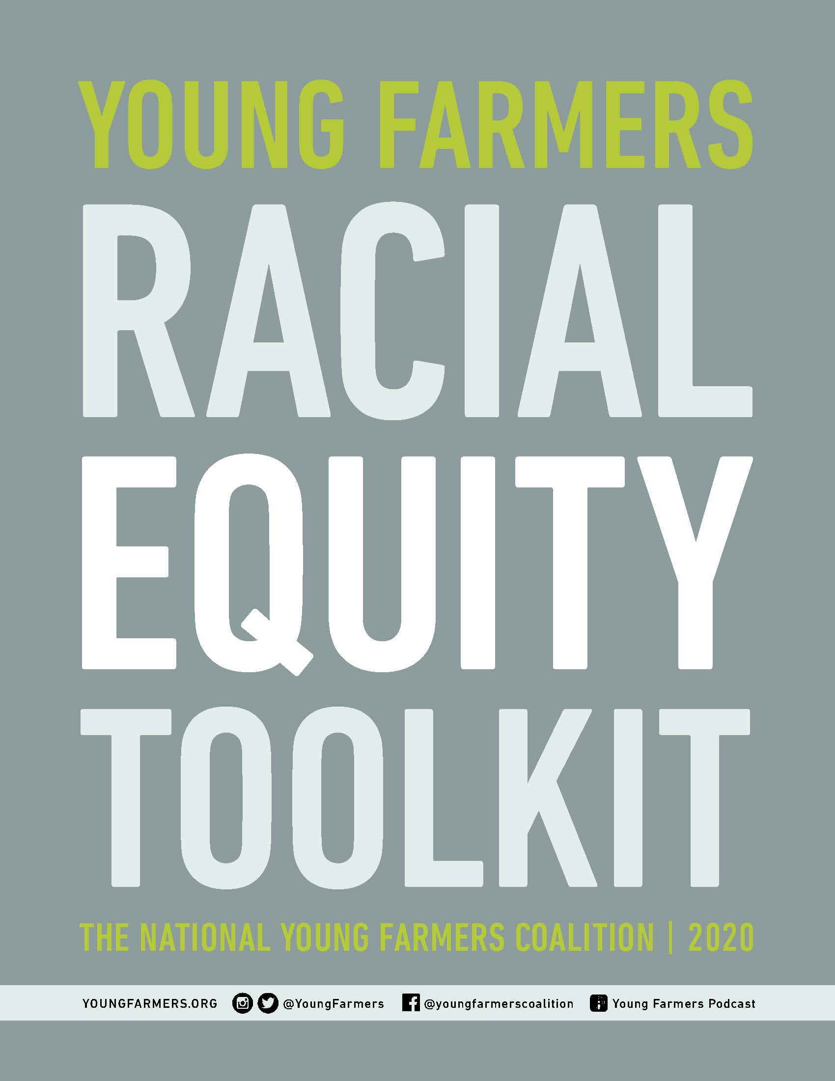 racial equity toolkit cover art