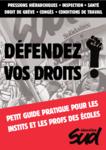 Guide des professeur-e-s des écoles: défendez vos droits !