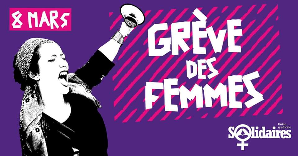 8 mars : grève des femmes