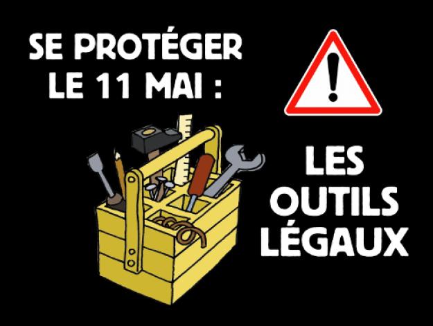 Se protéger le 11 mai et au-delà : les outils légaux