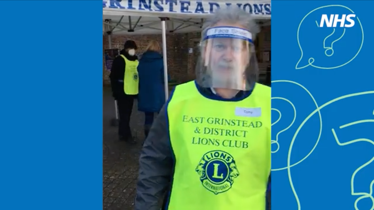 Tony from East Grinstead Lions