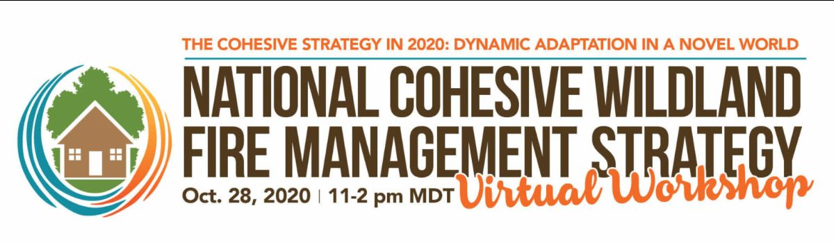 National cohesive wildland fire management strategy virtual workshop