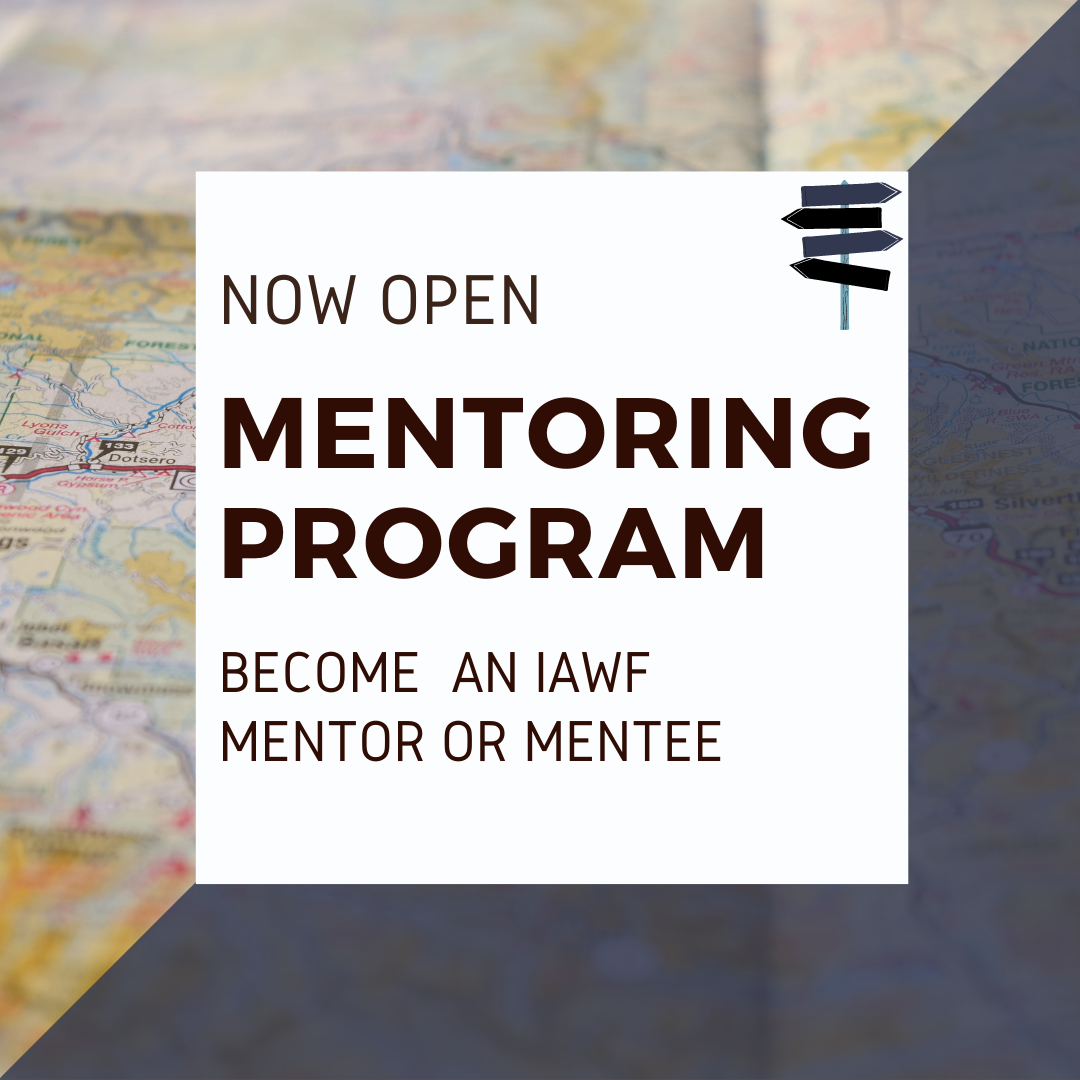 IAWF Mentoring Program, applications are now open decorative image