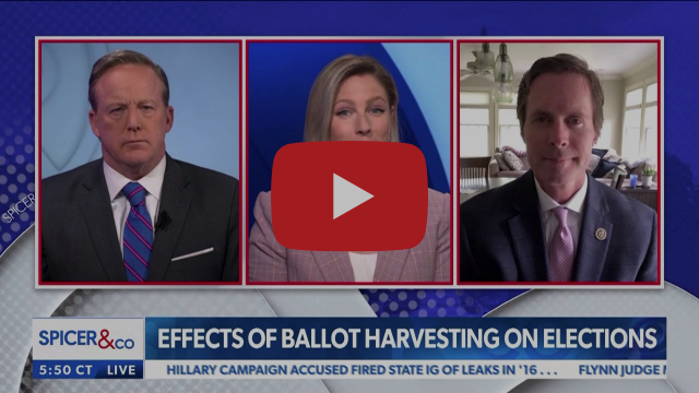 House Administration Committee's lead Republican Rodney Davis (IL-13) expose ballot harvesting's threat to ballot integrity