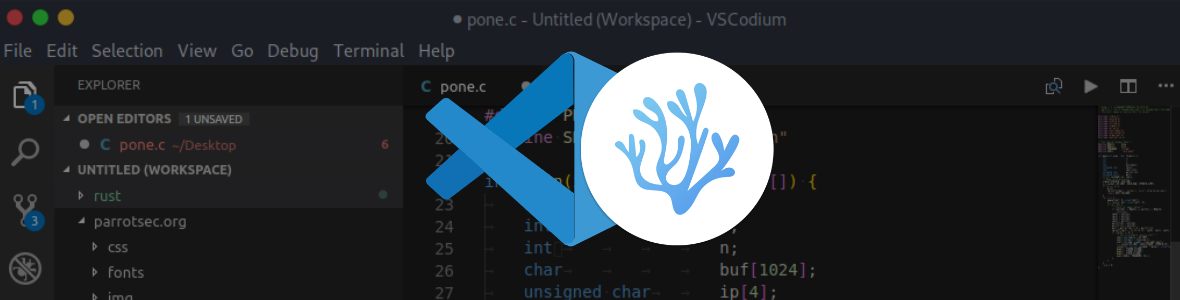 "Image la ""vraie"" version open source de Visual Studio Code"