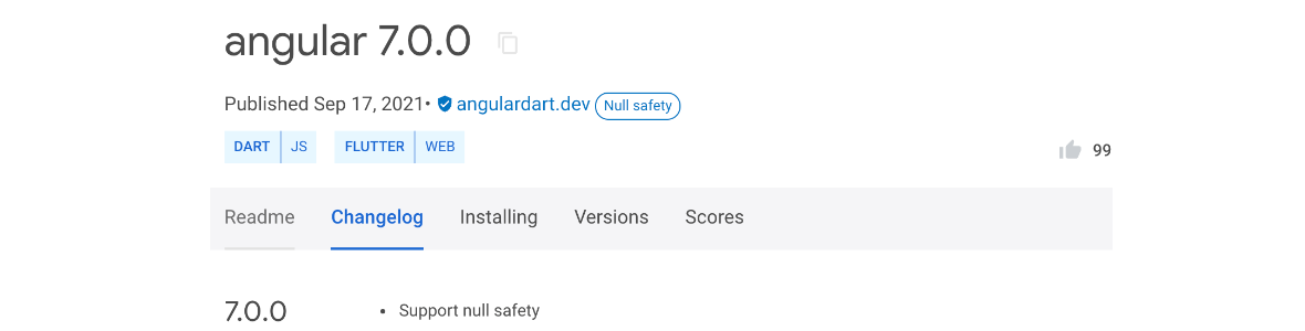 Image AngularDart passe enfin au null safety