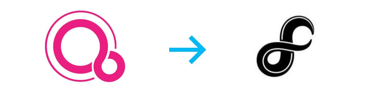 Illustration logo Fuchsia