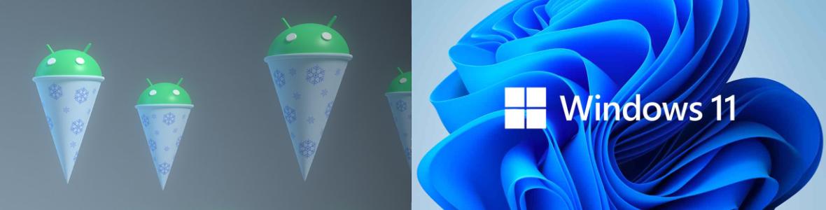Image Deux lancements majeurs : Android 12 & Windows 11