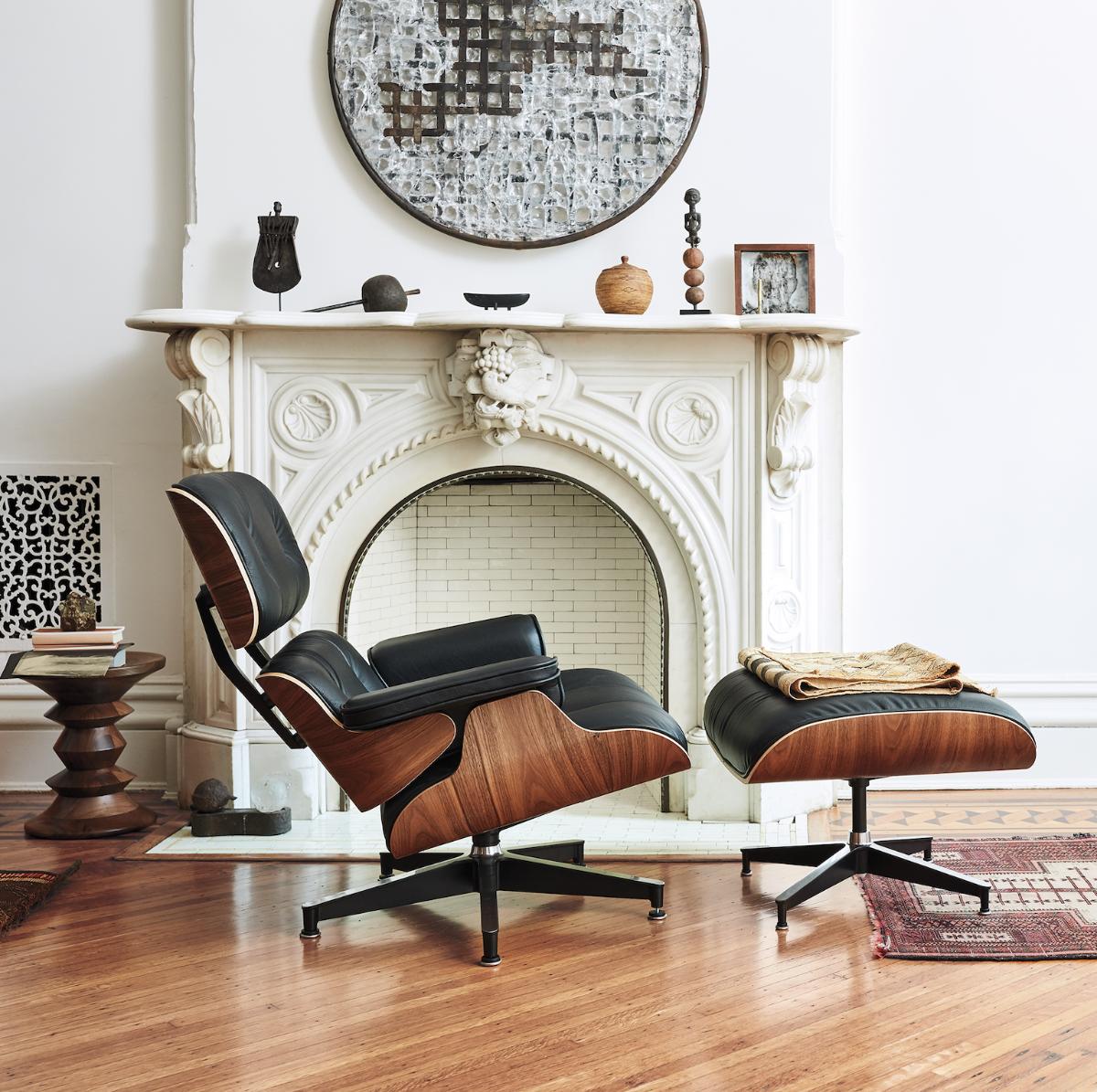 Matisse-Eames-Chair-ottoman-Herman-Miller