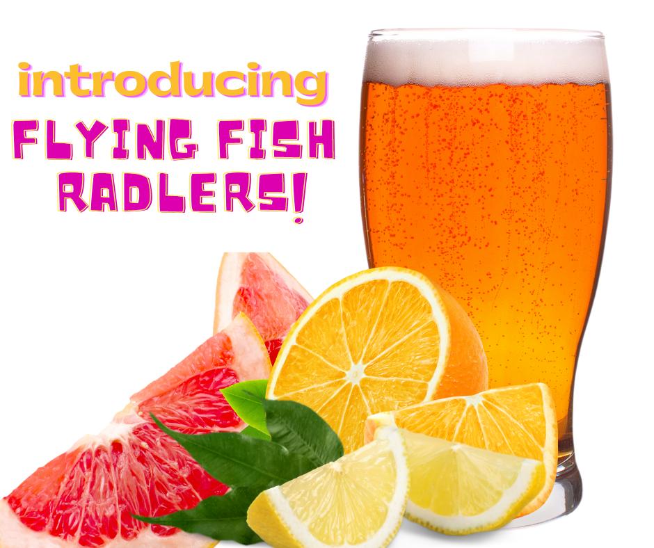 Radler beer and citrus fruit