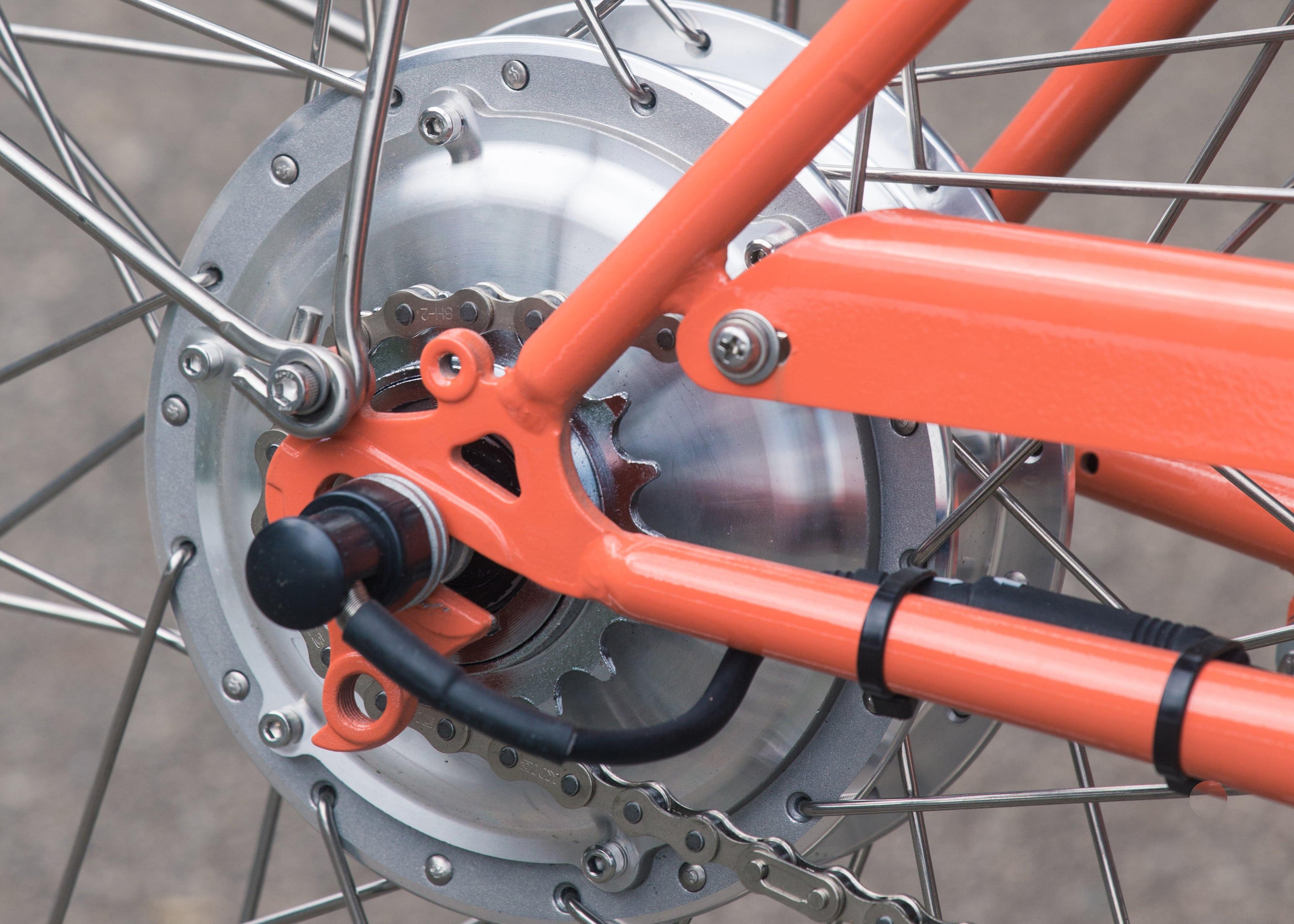 Freio regenerativo bike