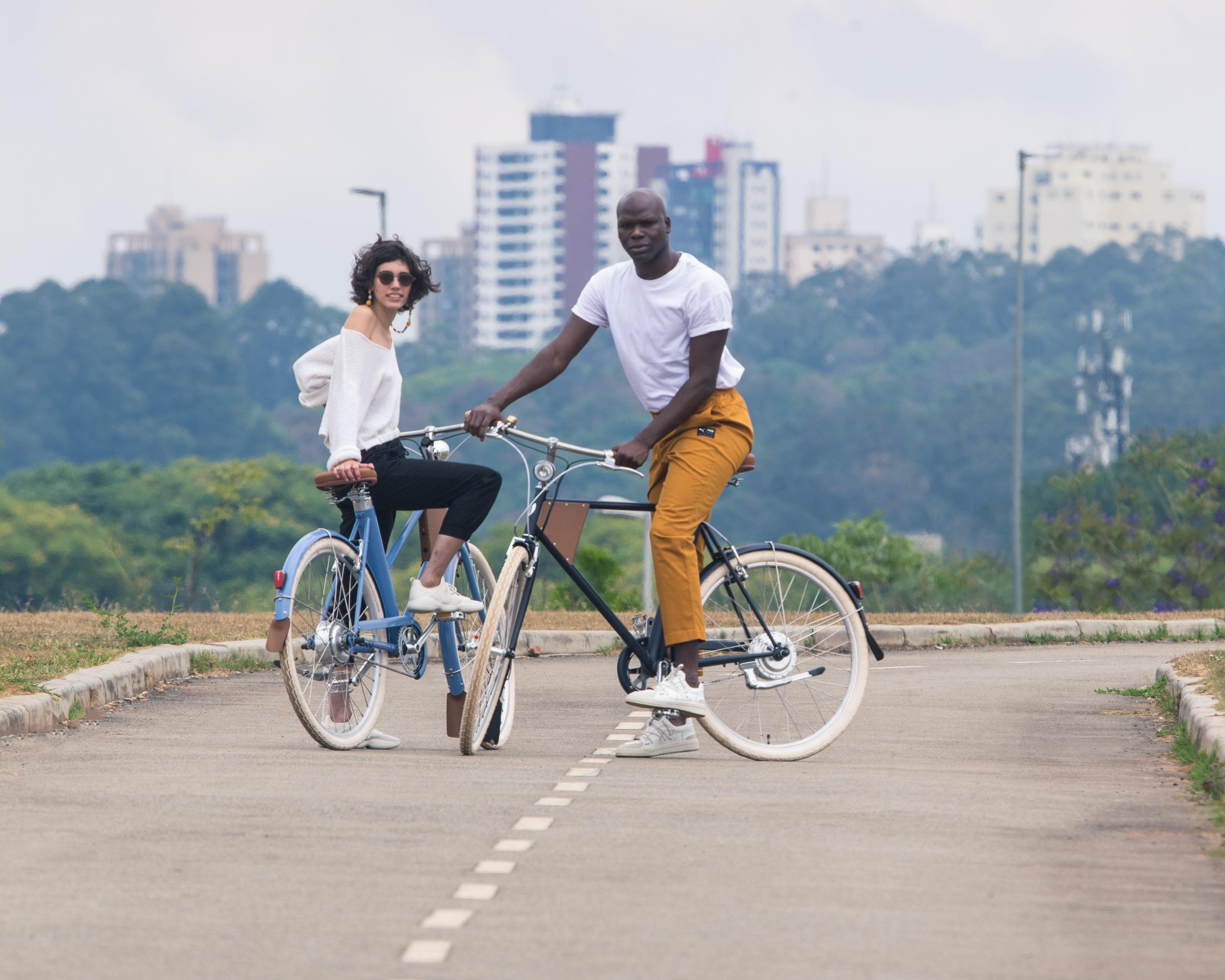 Design urbano bike elétrica