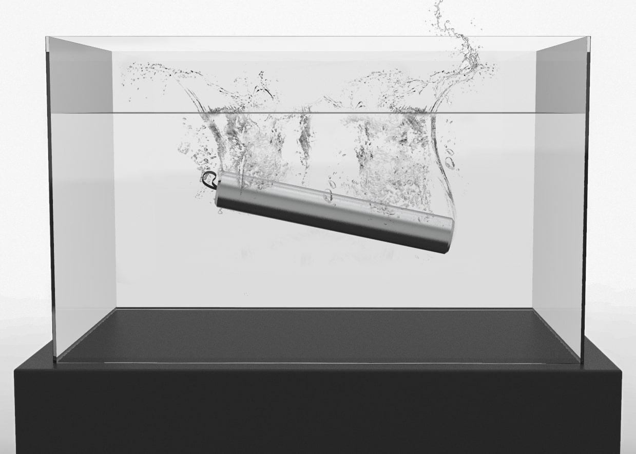 Bateria impermeável