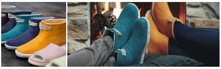 Warm de winter door met de nieuwe collectie sloffen van esgii