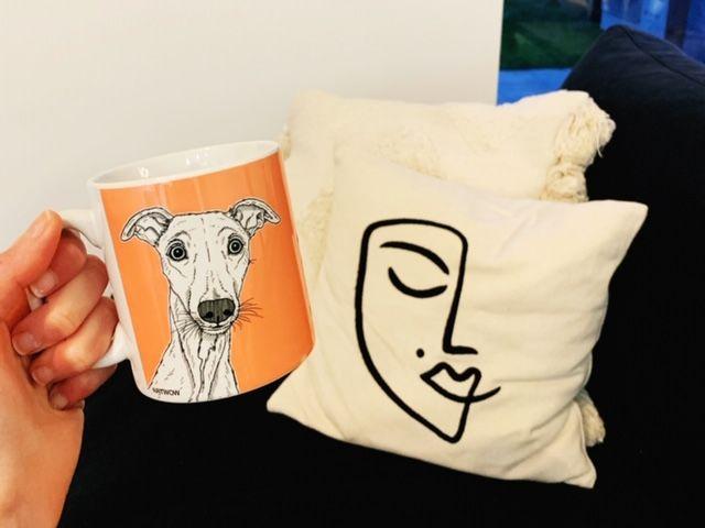 Custom print on mug - Adam Regester