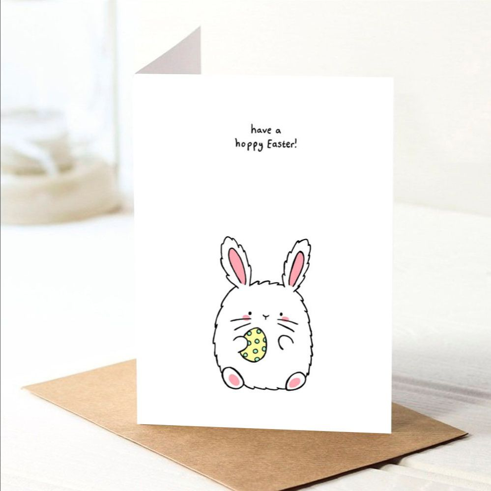 Happy Easter anniversary card