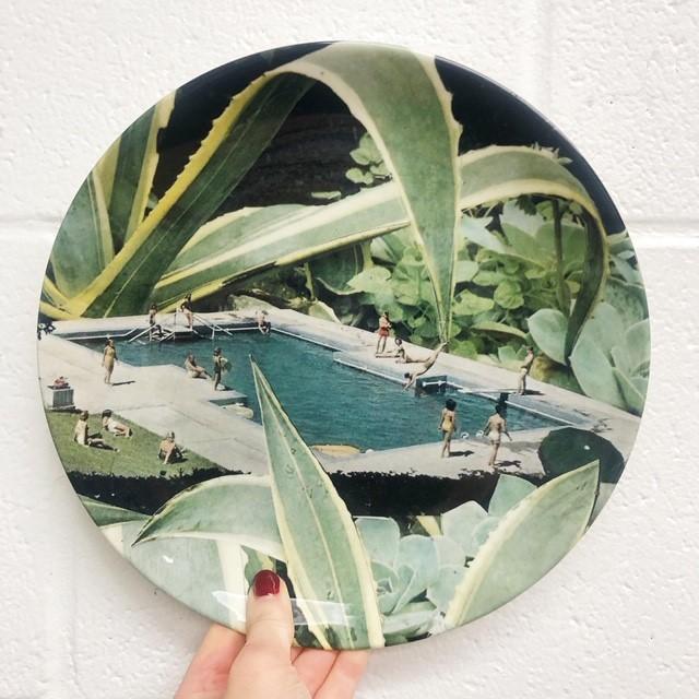 Designed plate