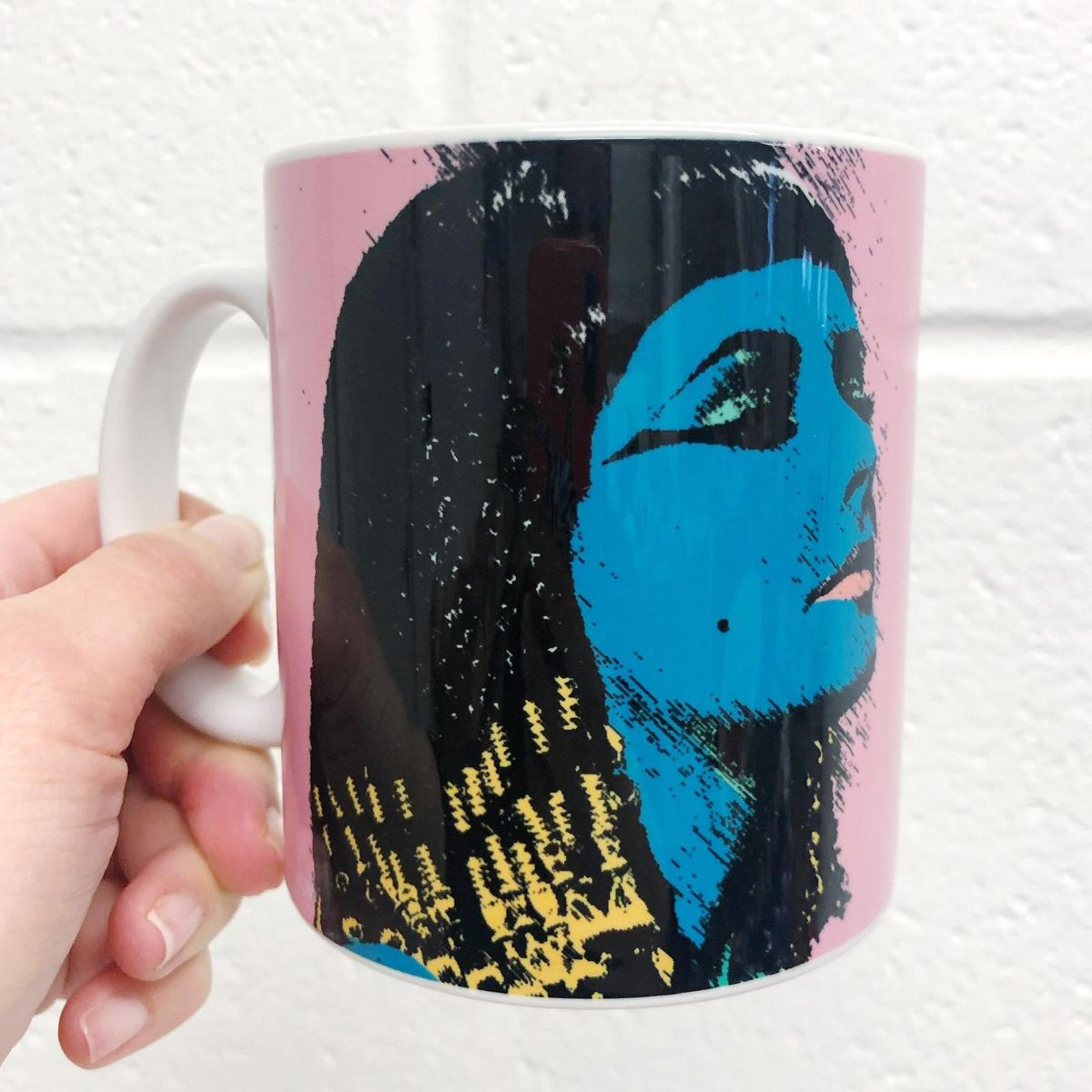 Personalised text on your mug