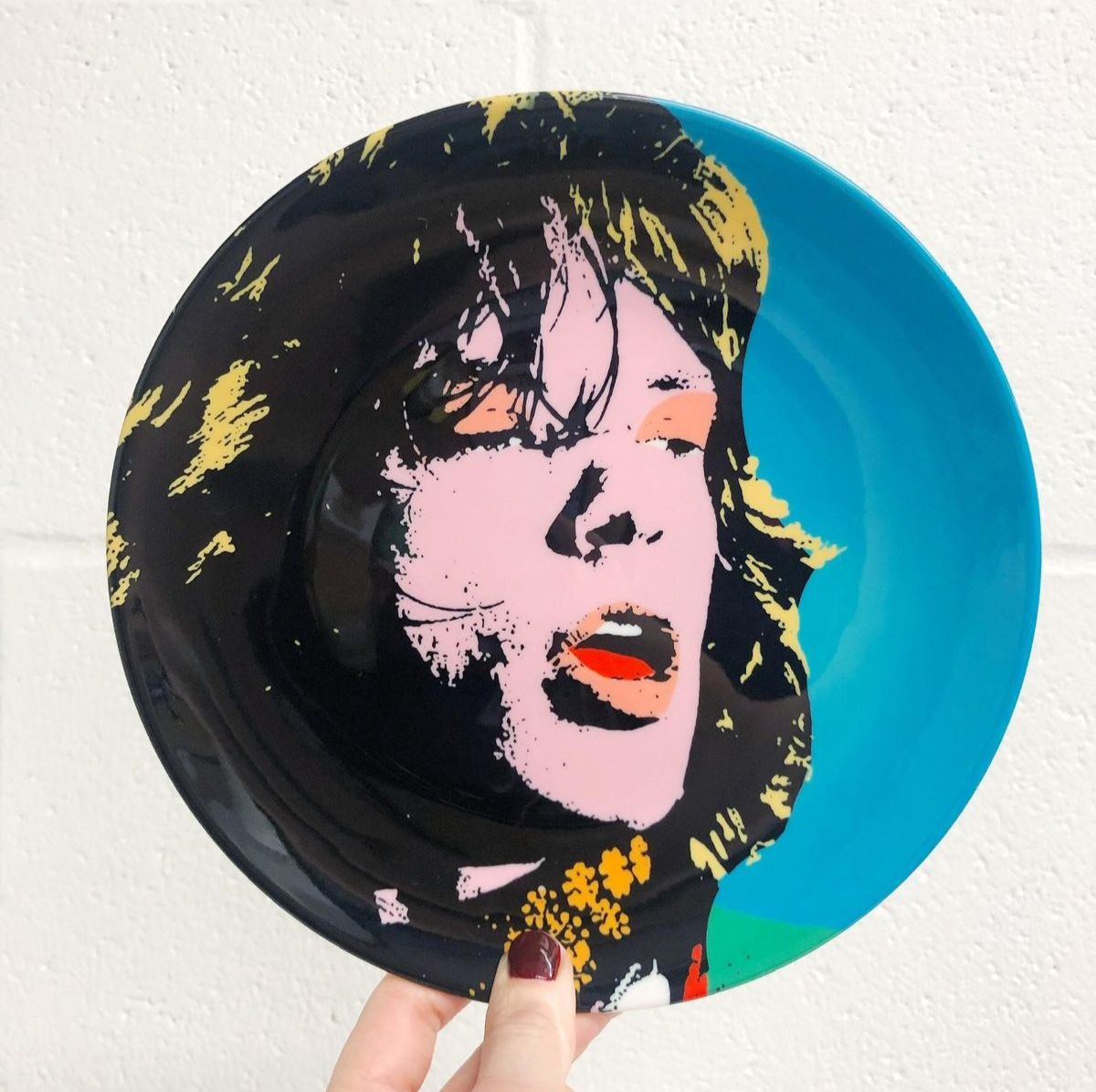 Personalised dinner plates on artwow store