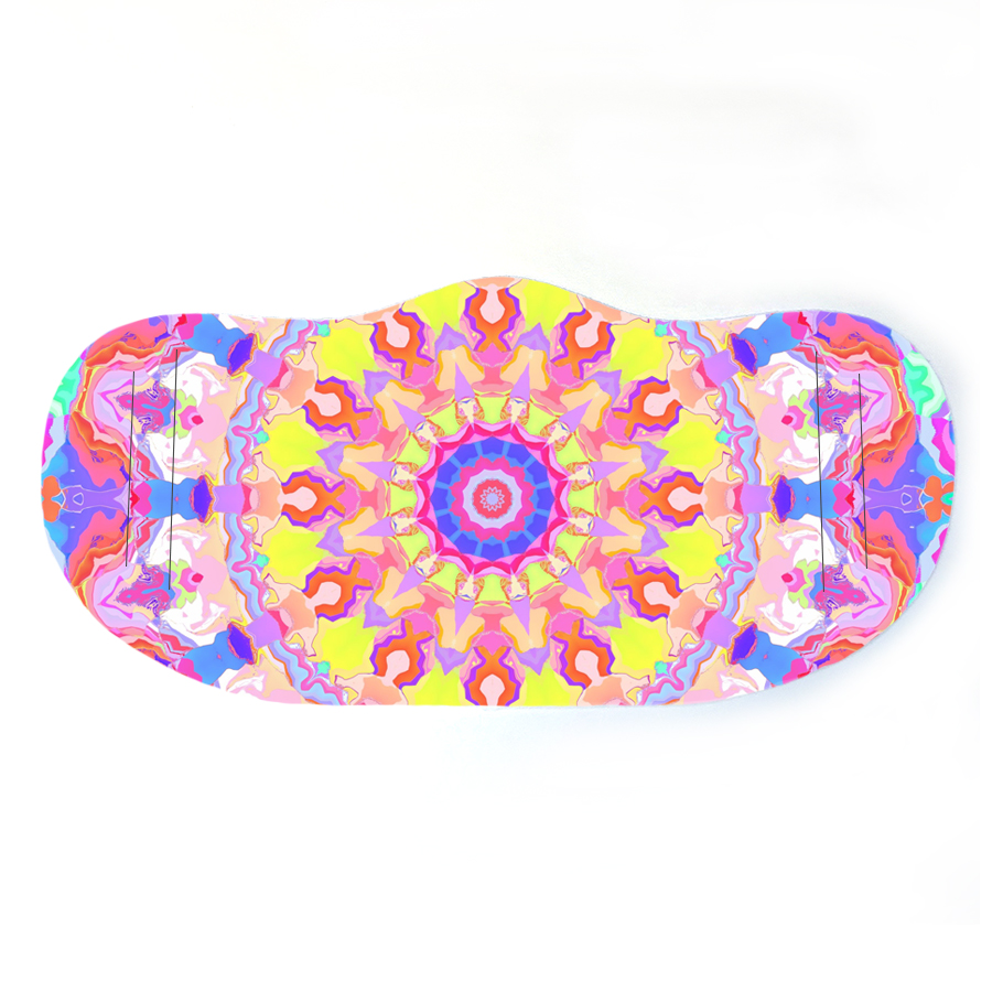 Face mask design - Vivid Mandala
