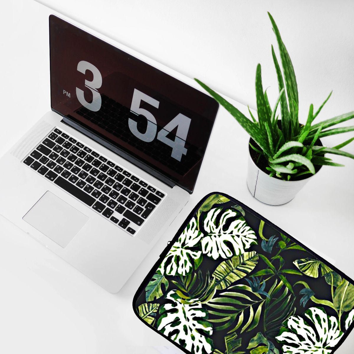 Designer laptop sleeve