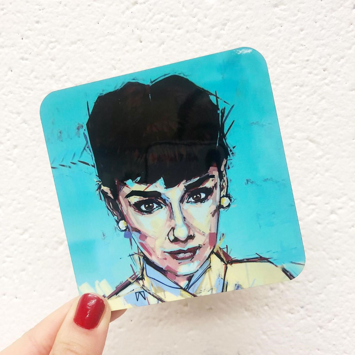 Audrey Hepburn artwork